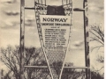 NorwaySnowShoeSign