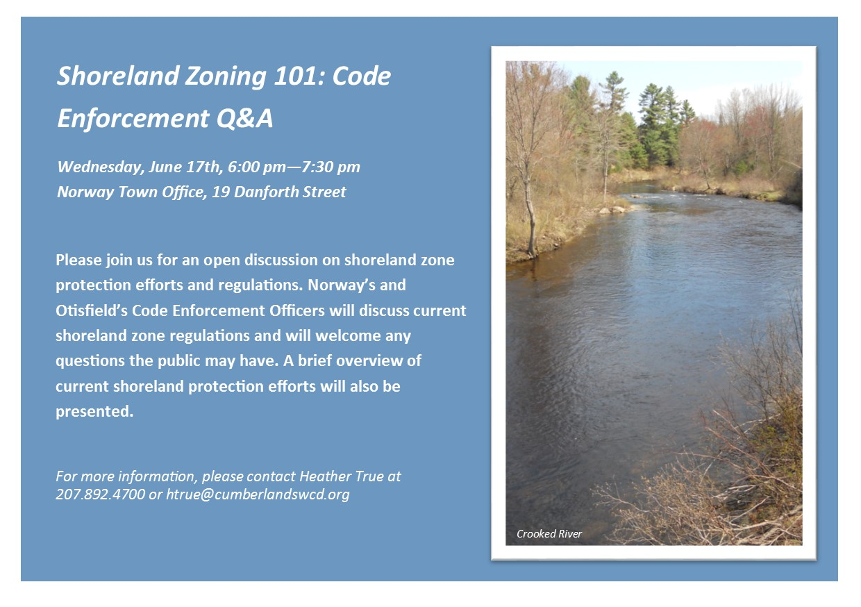 a description of shoreland zoning and its effects Shoreland zoning provisions town of raymond adopted may 21 these shoreland zoning provisions are a part of the raymond land is not in effect.